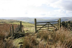 Gate (Richard Carter) Tags: uk gate yorkshire moors westyorkshire hebdenbridge calderdale caldervalley uppercaldervalley onthemoor