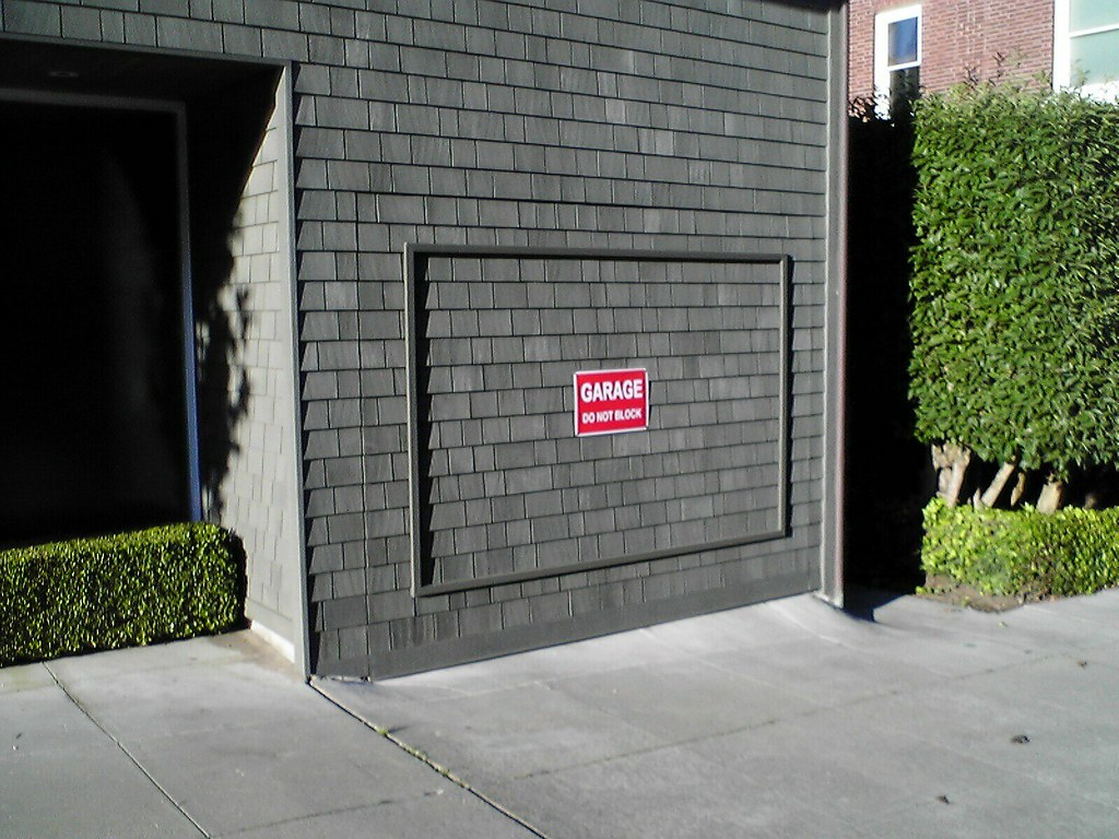 Hidden Garage Door