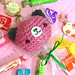 Amigurumi Watermelon Flavor Lollipop