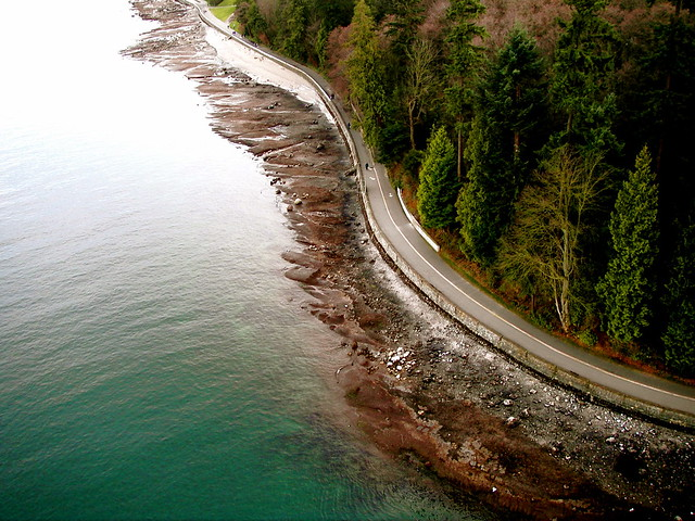 world-class Stanley Park seawall walk