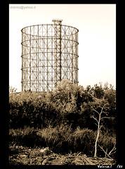 gazometro (Valerio.I) Tags: italy rome roma italia gazometro gasometro ostiense gazometer valerioi anni30 italgas
