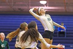 IMG_8377 (SJH Foto) Tags: girls volleyball high school york delone catholic team teen teenager jump spike