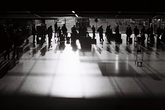 Holding the light (G1K4) Tags: blackwhite film zenit shadow line