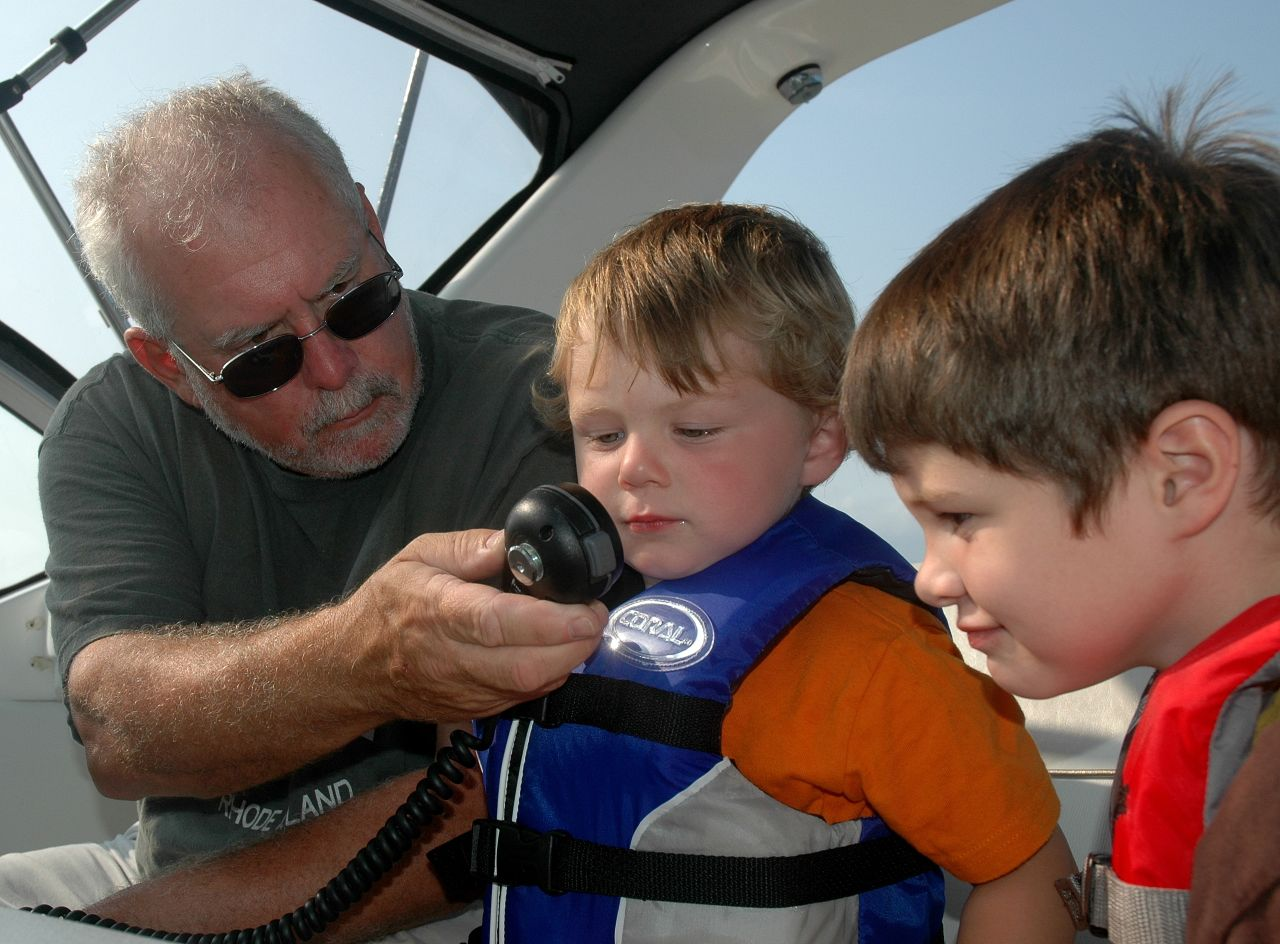 Grandpa, Christian, Connor