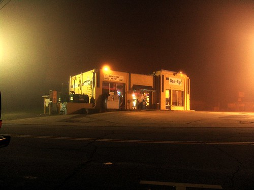 Zen's Gas-Up in Morning Fog