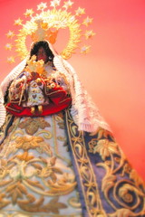 Regla (Farl) Tags: colors beautiful statue religious catholic image faith mary philippines religion icon cebu tradition virginmary rule virgen lapulapu regla opon motherlady cebusugbo
