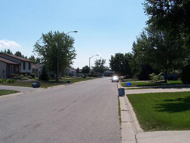 Looking South