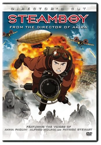 Anime steamboy en DVD