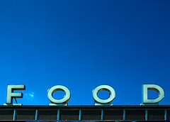 F O O D (L_) Tags: food signs toronto ontario canada ex architecture modern typography topf75 fairs modernism 1954 cne 1950s signage fisher blogged modernist masterclass mc05 rafisher richardafisher mc05negativespace1 explored reflectedcolor