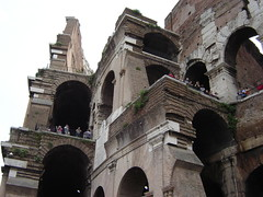 The Coloseum (Tjflex2) Tags: trip family vacation people italy rome roma castles church water beauty car stairs silver germany boats cool nice europe cathedral pigeon pigeons forum sunny stainedglass canals colosseum crowds steeples cannons