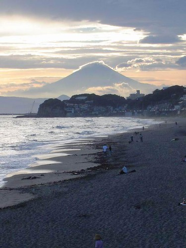View of Fuji-san from Kamakura, Japan by HertzaHaeon
