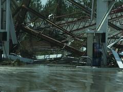 Gas station (G. J. Charlet III) Tags: hurricane hurricanekatrina mississippi baystlouis waveland kiln