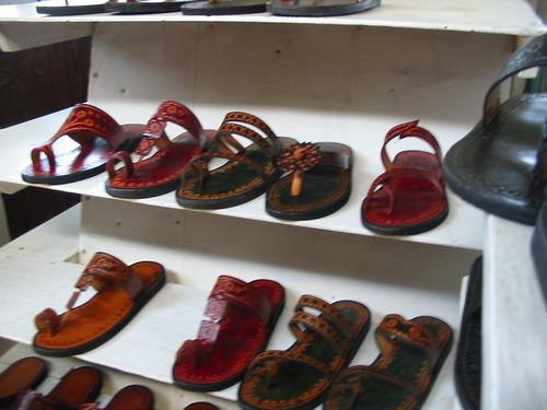 guyana 2005 monrepos market leather sandal
