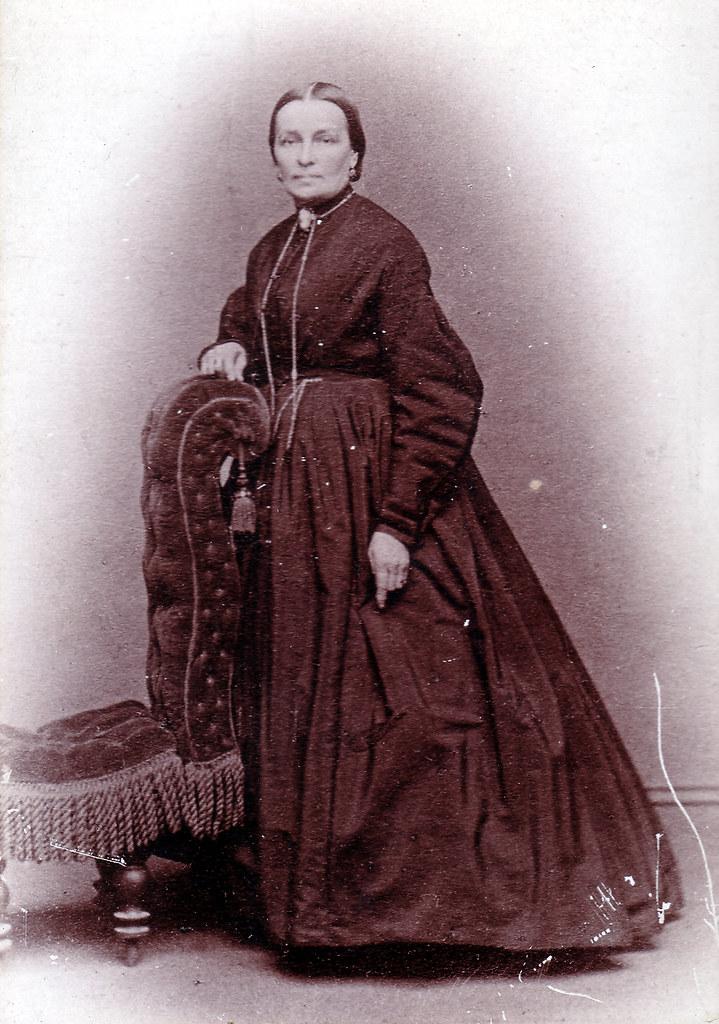 Sophia Weber (1815-1891) circa 1850-1860