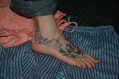DSC_0118 (BIGAWK) Tags: tattoo feet foot art dog love fun