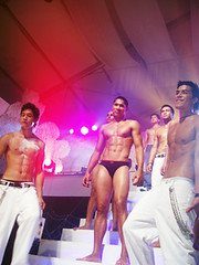 group (stuffilike) Tags: male models philippines cosmopolitan bachelor bash cosmo 2005 saga events zanjoe marudo iago raterta alvin alfonso victor basa marc abaya dennis trillo william devaughn magazine men hot boys nbc tent party people photo white pants kjwan