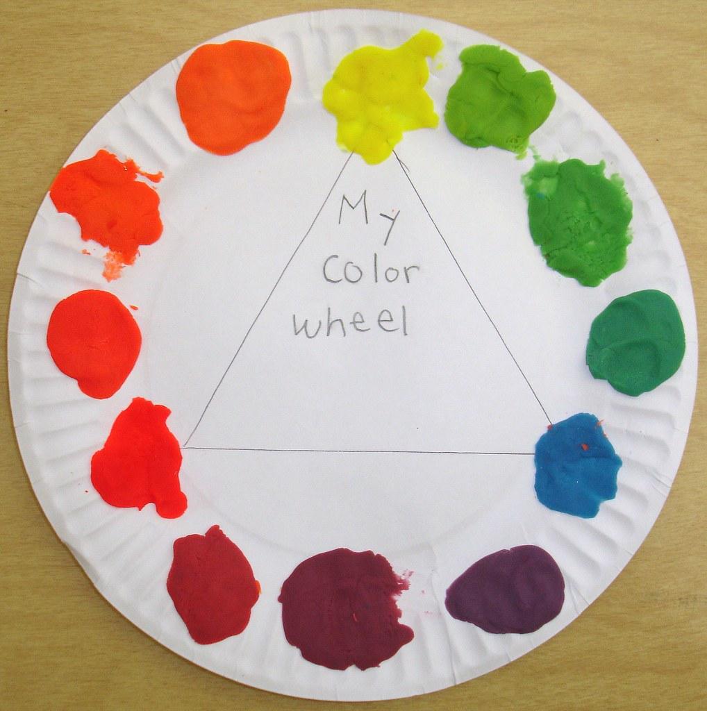 Play-Doh Color Wheel