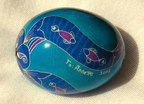 Swimming Fish Egg