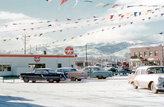 Flying A Service Station, Reno, Nevada ca. 1950