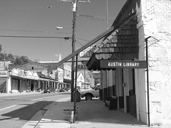 libs&liqs 1 (BookMonger) Tags: bw usa austin utah bars exterior library libraries nevada roadtrip tags liquor american highway50 saloons libslibs librariesandlibrarians