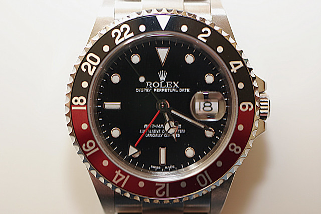 rolex watch gmt bling