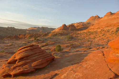 03-18-05 Vermilion Cliffs - first light