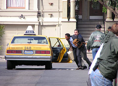 scuffle (telesle17) Tags: willsmith zuhairhaddad taxi sanfrancisco 1981 happyness movie dubocepark