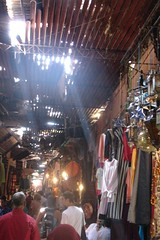 The souqs of Marrakesh by