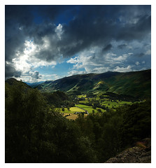 Borrowdale, Lake District (craig_352) Tags: uk england sky mountains green landscape bravo quality been1of100 lakedistrict cumbria fields drama craig352 abigfave