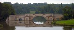 John Vanbrugh's Grand Bridge (Bobby8) Tags: uk bridge england lake reflection water topv111 geotagged britain hometown postcard blenheim idyllic oxfordshire tranquil muted kodakdx4530 oxon capabilitybrown johnvanbrugh geolat518444 lancelotbrown geolon13642
