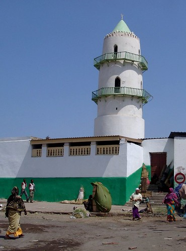 Djibouti - the big mosque