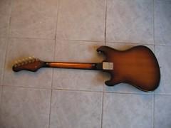 Weird 1960s guitar (Tuuur) Tags: guitar gitaar kawai teisco tuuur tuuursguitars