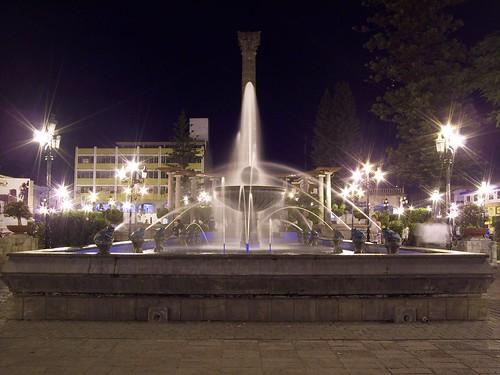 Fuente en la Plaza de Armas - Tepic, Nayarit, MEXICO