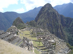 UNESCO World Heritage Site Machu Picchu in Peru
