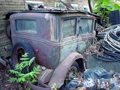 Old Essex or Chevrolet or Dodge (Porky Jupp) Tags: old beautiful car wow newjersey cool topv333 junk rust automobile antiquecar lovely1 rusty loveit vehicle junkyard scrap salvage clutter atco 222v2f 444v4f 777v7f 666v6f 123nj