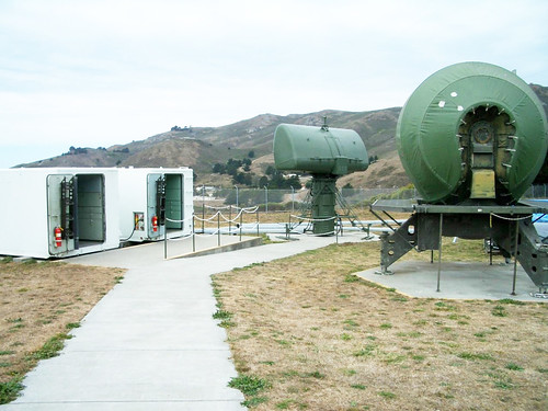 Nike missile radars and control units