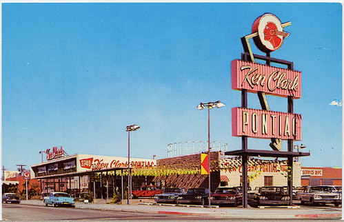 Ken Clark Pontiac Dealership, Los Angele by Roadsidepictures, on Flickr