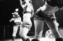 cowgirls (birdcage) Tags: washingtondc pontanisisters newburlesque blackandwhite bw cowgirls fishnets 930club dcist 3200