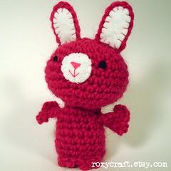 rabbit (Roxycraft) Tags: amigurumi softies plush mos crochet handmade