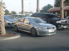 A8 (dubai_piny) Tags: uae cars car arab dubai dxd