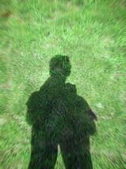 Vertigogreen (_MaO_) Tags: 2005 park nyc morning light shadow summer usa sunlight selfportrait ny newyork blur green me nature grass brooklyn photoshop self myself relax nikon shadows path sunday prospectpark vertigo july sunny artsy coolpix summertime s1 nikons1 effect selfshot shadowsandlight shadowslight coolpixs1
