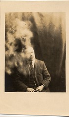 Spiritualism (*Tom*) Tags: 1920s head spirit ghost spiritphotography ectoplasm spiritualism appiration williamhope