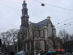 Westerkerk or literally Western Church (wlonline) Tags: amsterdam westerkerk
