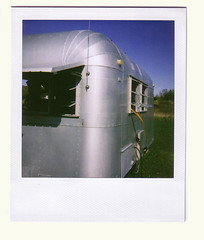 Trailer (Martha Duerr) Tags: sculpture franconian park minnesota polaroids