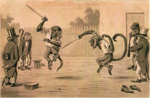 Monkey Sword Fight
