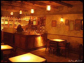 Bar do Museu da Cachaça.