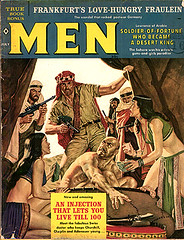 Men (Bollops) Tags: men freeassociation vintage magazine retro cover pulp torrid vintagemagazine sweatmag