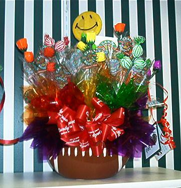 Football Candy Bouquet