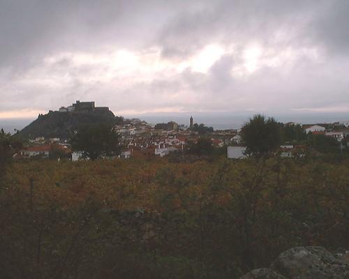 Atardecer de otoño en Montánchez