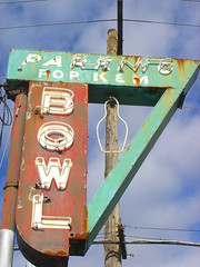 K&M Bowl (Curtis Gregory Perry) Tags: old light signs color colour classic abandoned luz glass beautiful sign electric night trash america warning vintage wonderful fun licht us crazy garbage junk colorful neon pretty glow unitedstates desert northwest bright lumire decay debris tube tubes ruin ne retro gas abandon american views bowling signage electricity pacificnorthwest americans depressed glowing instructions neonsign colourful damaged dying popular amerika 75 electrical vanishing information fragile distressed destroyed deserted luce instruction muestra blight placard dilapidated important advisory exciting signe abused sinal crumbling placards trashed ruined neons unsettling  zeichen non segno   misused dinged   teken  amerikan 75views    glowed    neonic